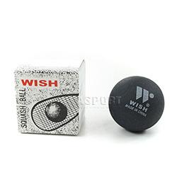 Piłka do squasha 1 kropka biała 1szt. Wish
